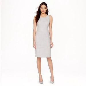 J. Crew Grey Emmaleigh Dress